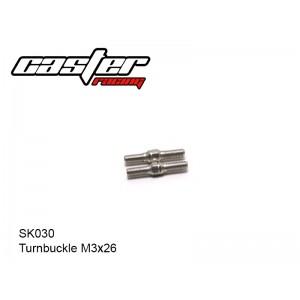 SK030  Turnbuckle M3x26