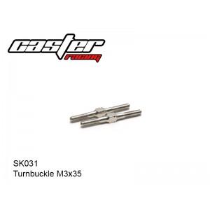 SK031  Turnbuckle M3x35