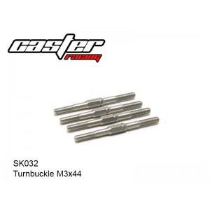 SK032  Turnbuckle M3x44