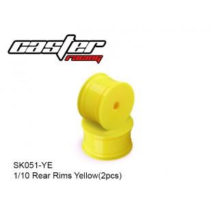 SK051-YE Rear Rims Yellow(2pcs)