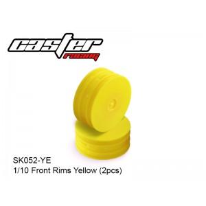 SK052-YE  1/10 Front Rims Yellow(2pcs)
