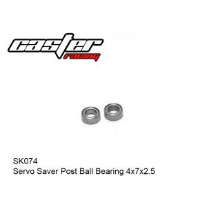 SK074  Servo Saver Post Ball Bearing 4x7x2.5