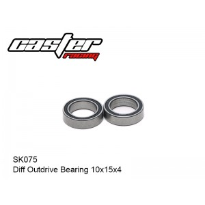 SK075    Diff Outdrive Bearing 10x15x4