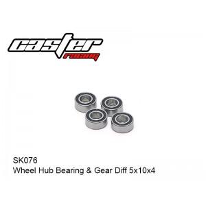 SK076  Wheel Hub Bearing 5x10x4