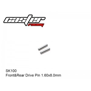 SK100  Front&Rear Drive Pin 1.60x8.0mm