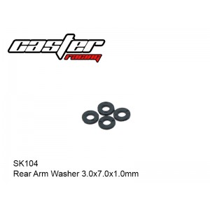 SK104  Rear Arm Washer 3.0x7.0x1.0mm
