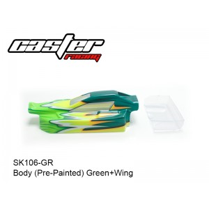 SK106-GR  Body (Pre-Painted) Green+Wing
