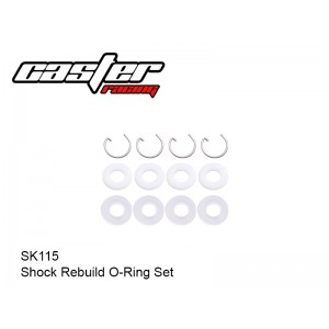 SK115  Shock Rebuild O-Ring Set