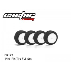 SK123  1/10  Pin Tire Full Set