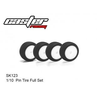 SK123  1/10  Pin Tire Full Set