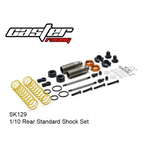 SK129  1/10 Rear Standard Shock Set