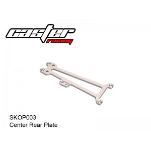 SKOP003  Center Rear Plate