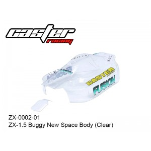 ZX-0002-01  ZX-1.5 Buggy New Space Body (Clear)