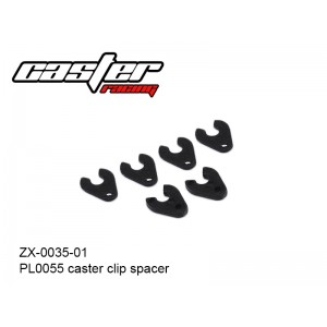 ZX-0035-01   PL0055 caster clip spacer