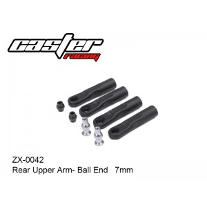 ZX-0042   Rear Upper Arm- Ball End   7mm