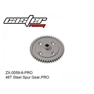 ZX-0059-6-PRO  46T Steel Spur Gear,PRO