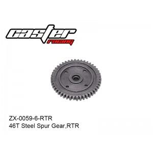 ZX-0059-6-RTR  46T Steel Spur Gear,RTR