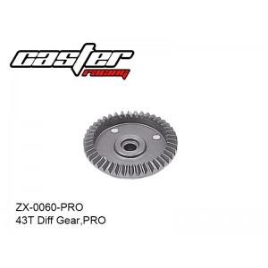 ZX-0060-PRO  43T Diff Gear,PRO