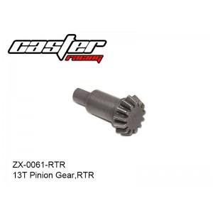 ZX-0061-RTR  13T Pinion Gear,RTR