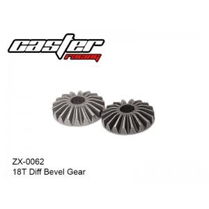 ZX-0062  18T Diff Bevel Gear
