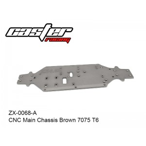 ZX-0068-A  CNC Main Chassis Brown 7075 T6