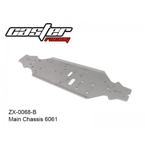 ZX-0068-B  Main Chassis 6061