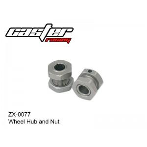 ZX-0077  Wheel Hub & Nut
