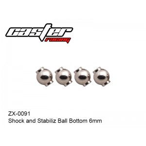 ZX-0091  Shock and Stabiliz Ball Bottom 6mm