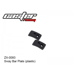 ZX-0093  Sway Bar Plate (plastic)