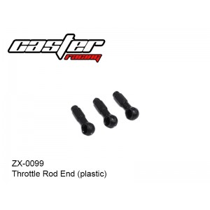 ZX-0099  Throttle Rod End (plastic)
