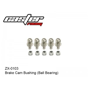ZX-0103  6mm Steering ball with screw thread