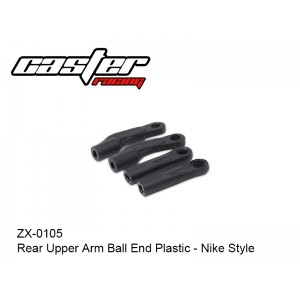 ZX-0105  Rear Upper Arm Ball End Plastic - Nike Style.