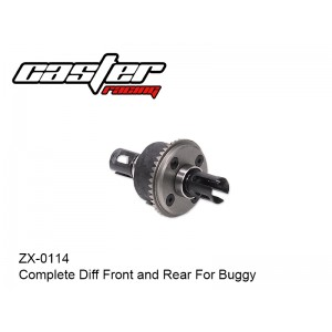 ZX-0114  Complete Diff Front and Rear For Buggy