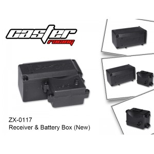 ZX-0117  Receiver & Battery Box (New)