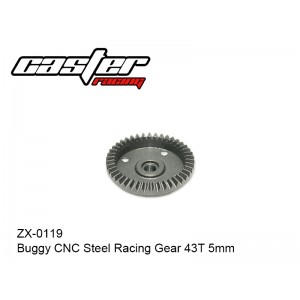 ZX-0119  Buggy CNC Steel Racing Gear 43T 5mm