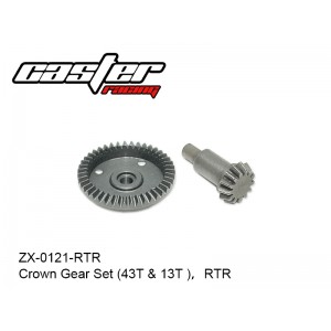 ZX-0121-RTR  Crown Gear Set (43T & 13T ),RTR