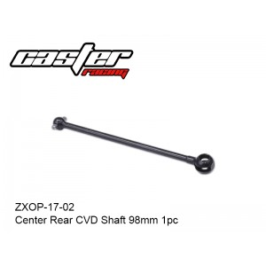 ZXOP-17-02  Center Rear CVD Shaft 98mm 1pc