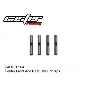 ZXOP-17-04  Center Front And Rear CVD Pin 4pc