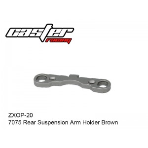 ZXOP-20  7075 Rear Suspension Arm Holder Brown