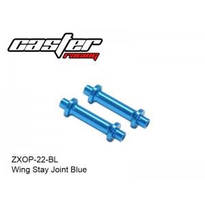 ZXOP-22-BL  Wing Stay Joint Blue