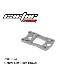 ZXOP-24  Center Diff. Plate Brown