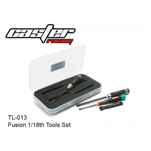 TL-013  Fusion 1/18th Tools  Set