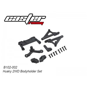 B102-002 Husky 2WD Body Holder Set