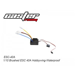 ESC-40A 1/10 Brushed ESC 40A Hobbywing-Waterproof