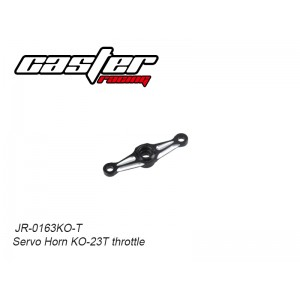 JR-0163KO-T Servo Horn KO-23T throttle