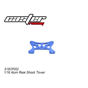 S16OP002 1/16 Alum Rear Shock Tower