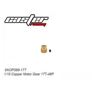 SKOP089-17T 1/10 Copper Motor Gear 17T-48P