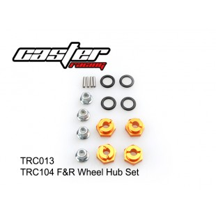 TRC013  TRC104 F&R Wheel Hub Set
