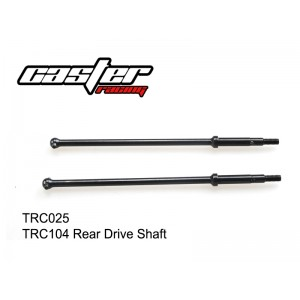 TRC025  TRC104 Rear Drive Shaft