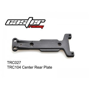 TRC027 TRC104 Center Rear Plate